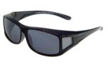 Fitover Overzetzonnebril Sonnenüberbrille Junior black