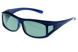 Fitover Overzetzonnebril Sonnenüberbrille Nautic blue