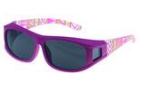 Fitover Overzetzonnebril, Sonnenüberbrille Guardian pink (XS)
