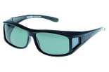 Fitover Overzetzonnebril Sonnenüberbrille Move Black