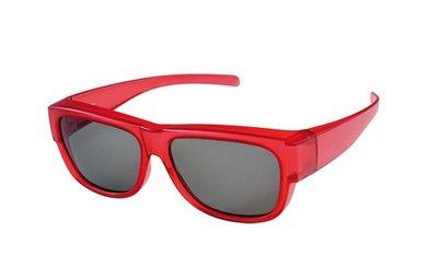 Overzet zonnebril Clubman Red (s/m)