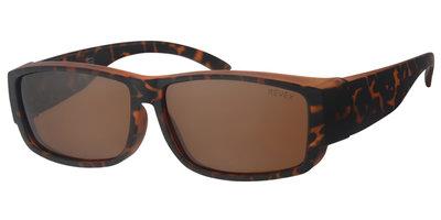 Fitover sunglasses Cover havanna (l/xl)