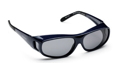 Fitover Overzetzonnebril Sonnenüberbrille Benjamin Blue