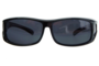 Fitover sunglasses Overzet zonnebril Sonnen Überbrillen Junior black  (S)